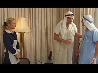 Demia moor comma naughty maid enjoys dp