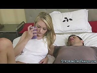 Stepsister teen plunged