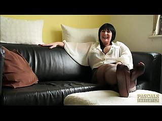 Hot milf slut andi interview before fucking
