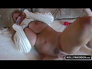 Kelly madison fucking herself with a dirty toy