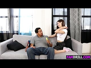 Tight Teen Lucy Doll Gets Fucked By Stepfather