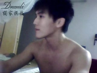 Chinese twink jerk off