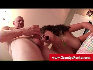 Horny london keys cant resist old man