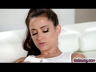 Tara gropes georgia and rubs her pussy