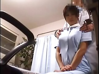 Japanese Voyeur Footage of Clumsy Nurses Making up for Their Mistakes to a Dominant Doctor 1..