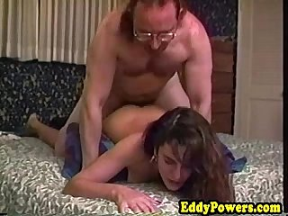 Private vintage sextape with 18yo