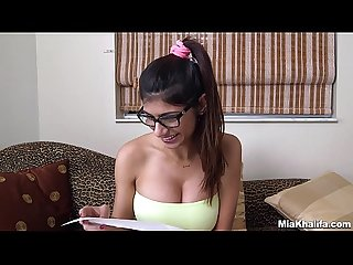 Mia khalifa popped a fans cherry and it was awkward Af mk13819
