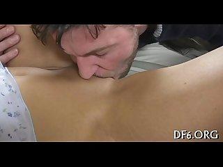 Cock inside virgin fur pie