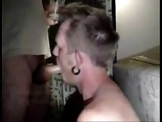 Blonde gagging swallow cum p e i