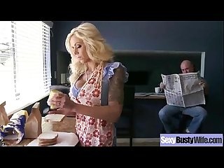 Sexy Busty Mommy (nina elle) Enjoy Hardcore Bang video-22