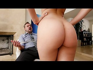 BANGBROS - PAWG Step Daughter Aidra Fox Takes Control Of Daddy