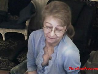 Lovely Granny with Glasses Free Granny Glasses Porn Video