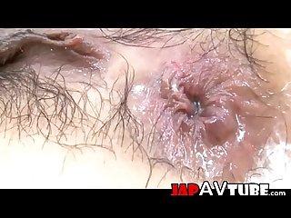 Ishiguro kyouka gets anal creampie