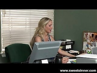 Julia ann gets fucked hard in the office