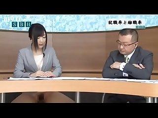 Hibiki otsuki presenta las noticias de la maana