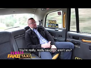 Female Fake Taxi Hot busty blonde sucks and fucks her businessman fare