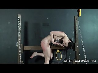 Kamis teen electro bdsm and screaming device bondage
