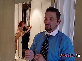 Hot wife monique alexander almost gets caught cheating