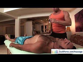 Straight boys fucked during massage movie 03