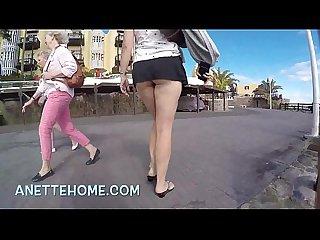 Sous la jupe D une amatrice en livecam pour les voyeurs