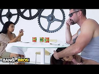 BANGBROS - Asian Teen Vina Sky Wants Bad Boy Charles Dera, But Her Tiger Mom Disapproves