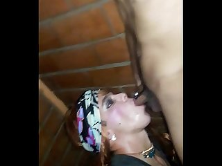 Travesti se lo mama en hotel parte 3