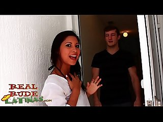 Hot latina teen jade jantzen gets an oily rubdown