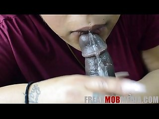 BBW Queen Spit POV Blowjob