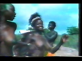 topless african dance