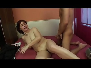 Young guy fucks milf