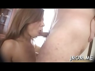 Older pussy and mouth filled