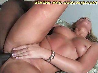 Black anal cougar