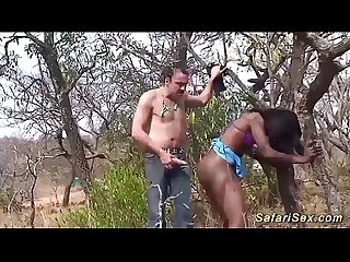 African fetish porn in nature