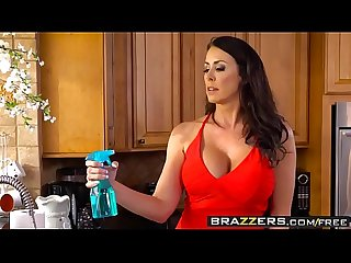 Brazzers mommy got boobs too hot to handle scene starring reagan foxx and kyle mason