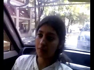 Karachi bhai beautiful angel chotibahen fucking in car Part1