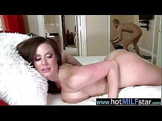 Big long hard cock licked sucked and ride by mature lady kendra lust video 17