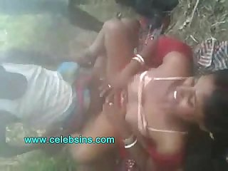 Indian village couple fucking outdoor