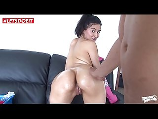 LETSDOEIT - Latina Maid in Sweatpants Is In the Mood For Cock and not Cleaning