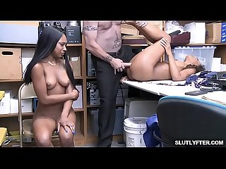 Demi sutra and lala ivery taking turns getting romp by that white cock excl