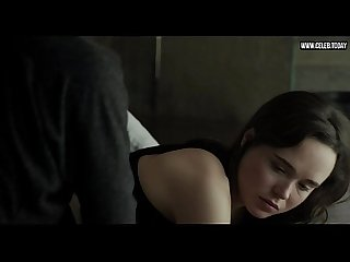 Ellen page topless sex scenes girl girl into the forest 2015