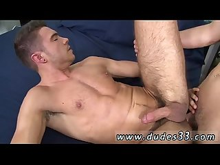 Gay Twinks with a small dick piss josh fills up sam s arse with his