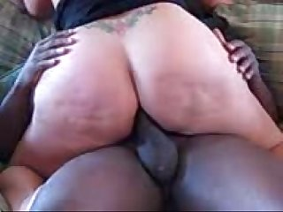 His wife S first bbc anal in her bubble butt ass