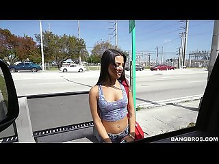 Latina Nikki Kay Is All About Her Money on The Bang Bus (bb15058)