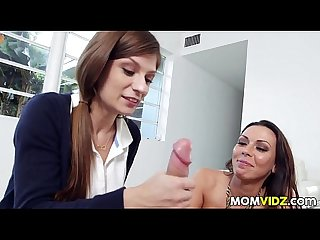 Stepmom Rachel starr teachs dillion carter