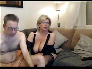 Mature mom have A Webcam Sex with big perfect tits more on mygopropussy com