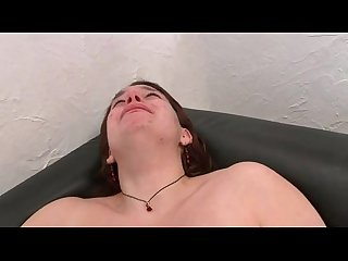 Young amateur french big beautiful woman hard sodomized in 3some