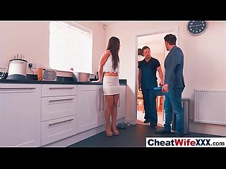 Superb Wife (taylor sands) In hard Style Sex Cheating Story clip-27