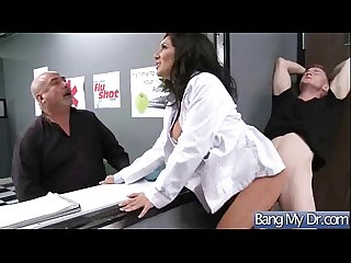 Horny Patient (emily b) Get Sex Treatment In Doctor Cabinet mov-13