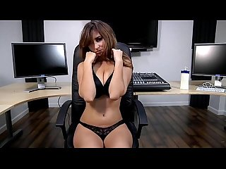 Shay laren strips in the office