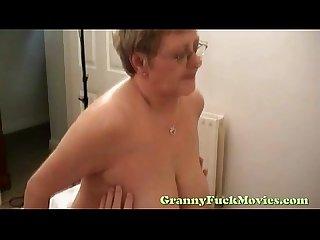 Granny snatch fucking